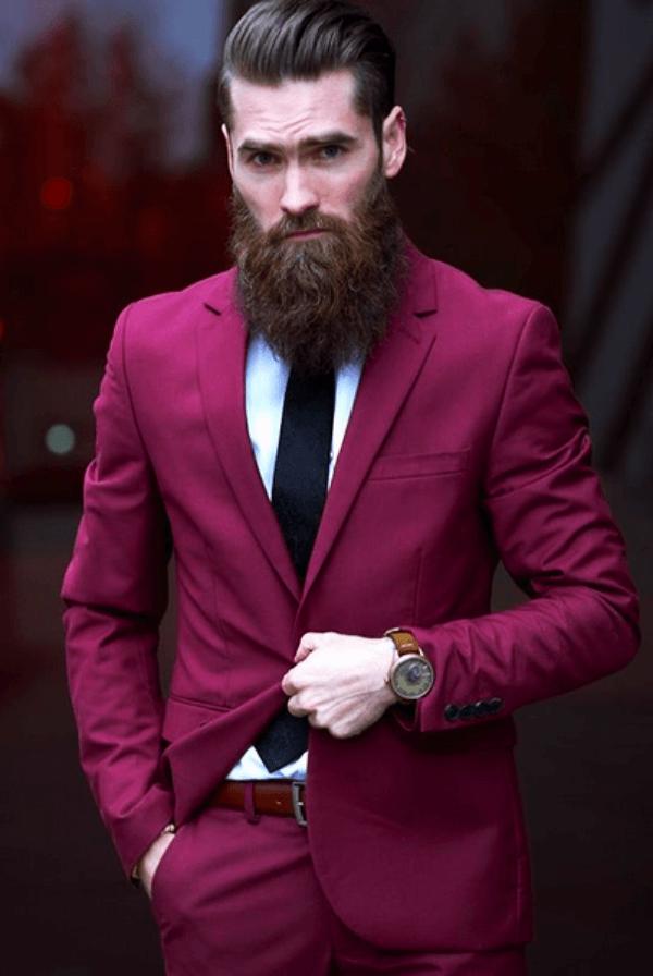 round beard styles