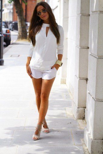 short curvy girl outfits