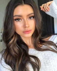 natural makeup looks for brown eyes