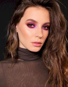 natural eye makeup for brown eyes