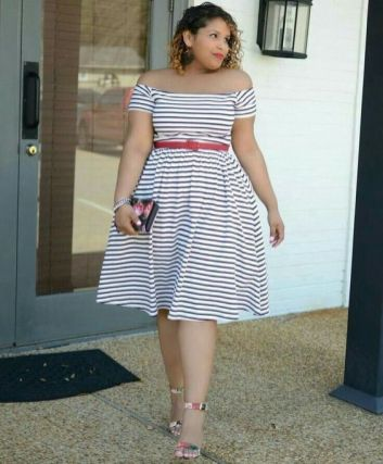 summer outfits for larger ladies
