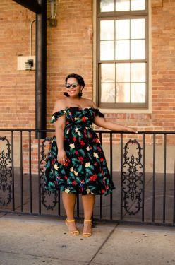 plus size summer party dresses