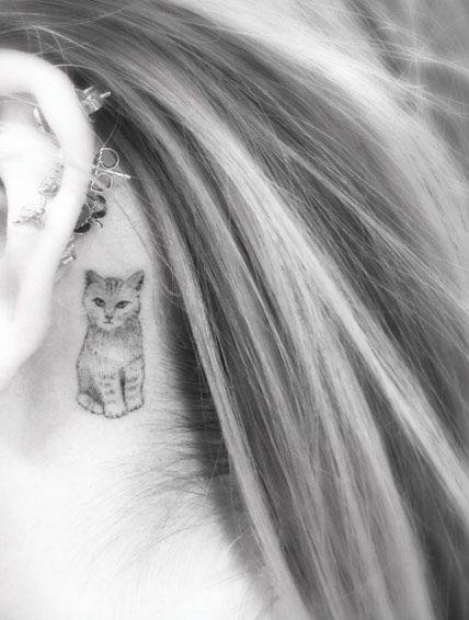 Miniature Animal Tattoos for Women