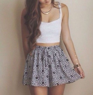 trendy cute summer outfits for teenage girl