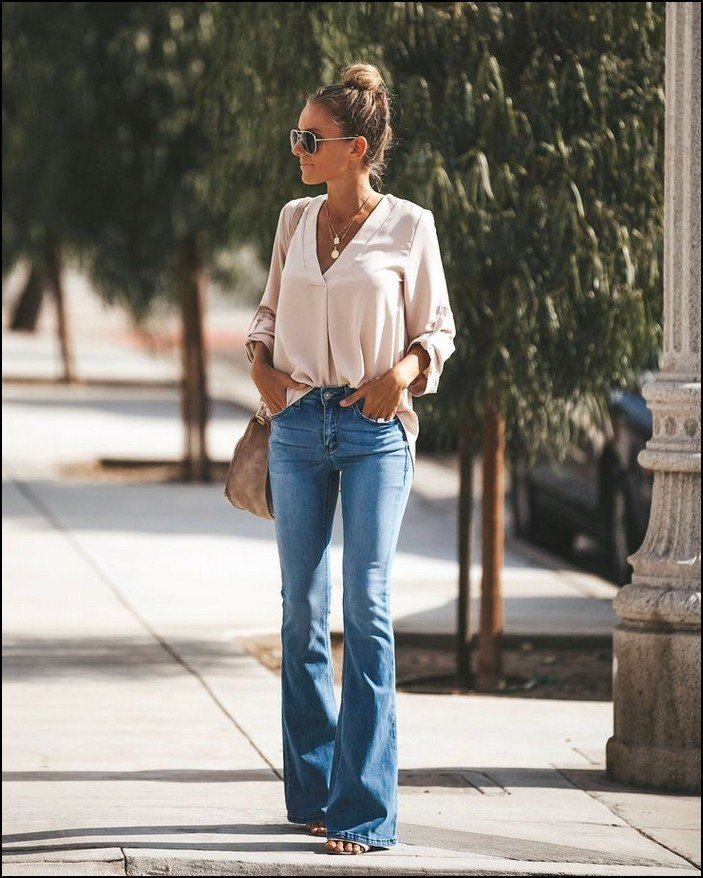 minimalist outfits summer long jeans design
