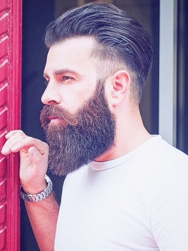 full beard styles for round faces