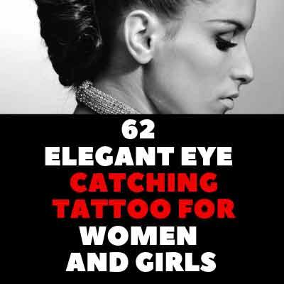 62 ELEGANT EYE – CATCHING TATTOO FOR WOMEN AND GIRLS