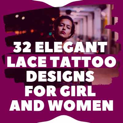 Lace Tattoo Designs for Girl