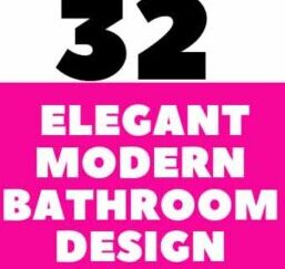 32 Elegant Modern Bathroom Design Ideas To Inspire You