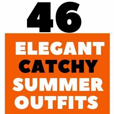 Catchy summer outfits