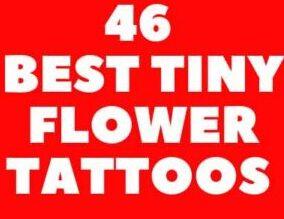 46 BEST TINY FLOWER TATTOOS FOR  FEMALE  CREATIVE IDEAS