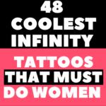 Women Infinity Tattoos