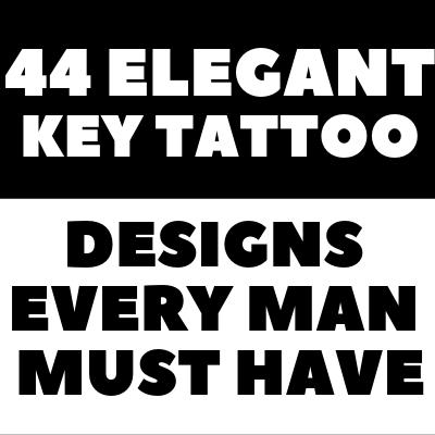 KEY TATTOO For Men