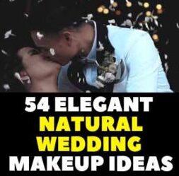54 Elegant Wedding Makeup Ideas Romantic Look