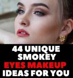 44 Unique Smokey Eyes Makeup Ideas For Female