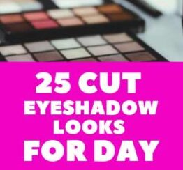 25 Cut Eyeshadow Looks for Day Ideas Colorful makeup