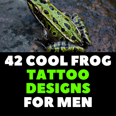 42 COOL FROG TATTOO DESIGNS FOR MEN