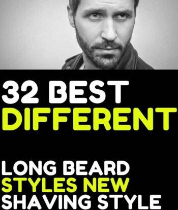 32 Trendy Long beard styles for men stylish shaving