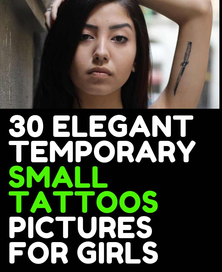 30 ELEGANT  TEMPORARY SMALL TATTOOS  PICTURES FOR GIRLS