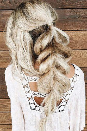 hairstyles for long hair for wedding