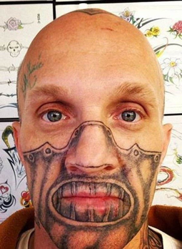ideas about Face tattoos