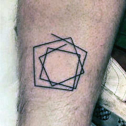 Most men avoid tattoos due