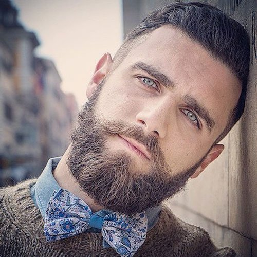 medium to long beard shapes images