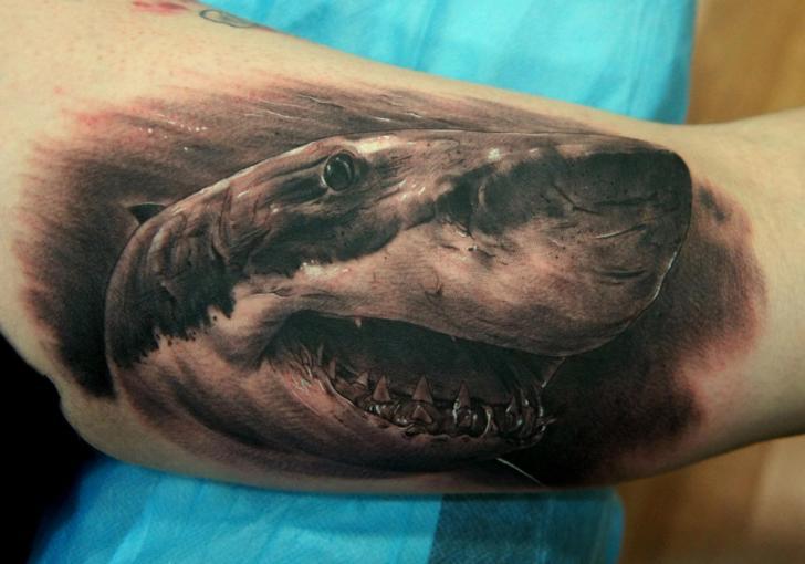 shark attack tattoos