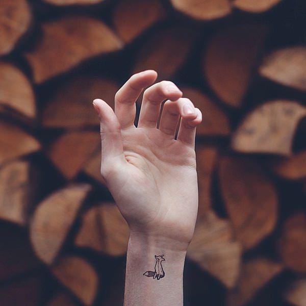 foxi tattoo on arm