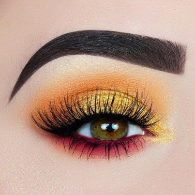 beautiful and colourful makeup looks