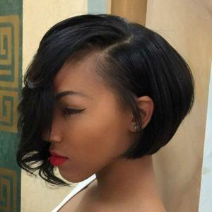 short haircuts for black women's hair