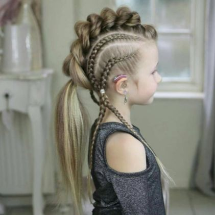designers have adopted the funky hairstyle
