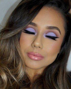 neon eyeshadow for female