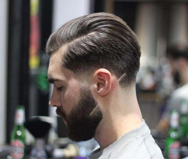 beard styles with short hair