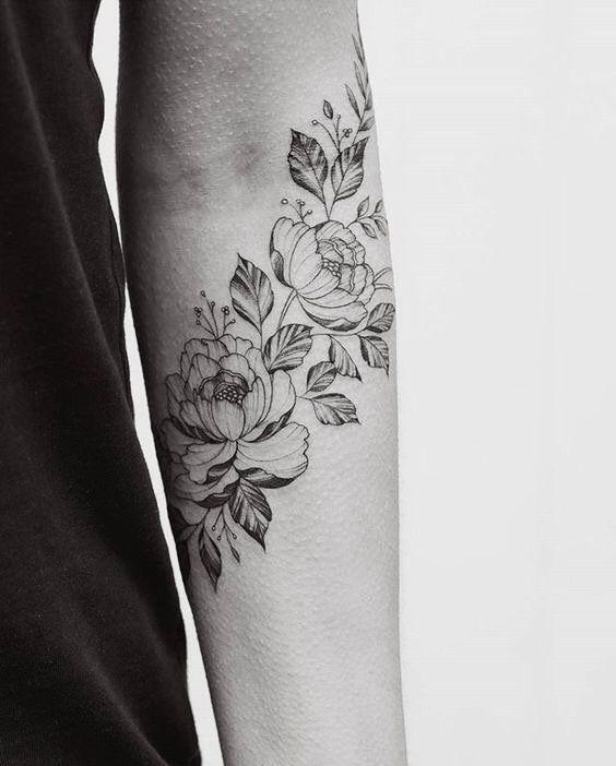 best flower female tattoo images