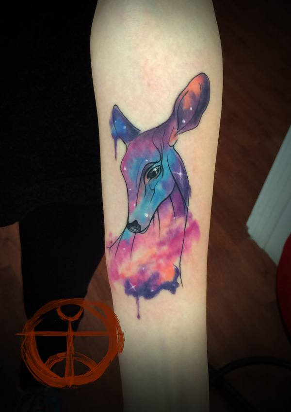 Beautiful Deer Tattoo Ideas to Ink