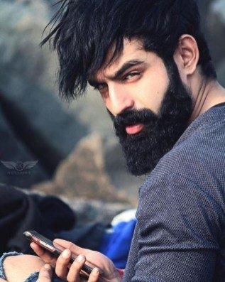 modern goatee beard shapes  for men