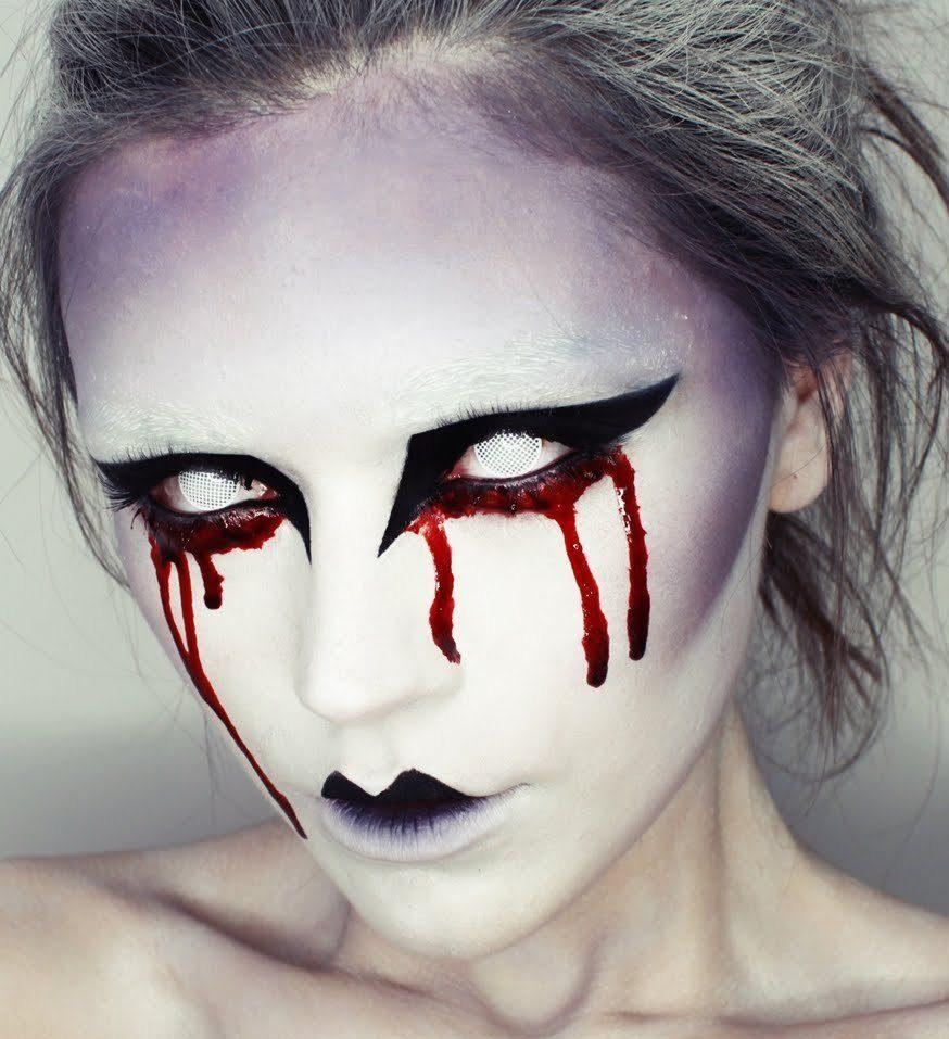 vampire blood best halloween face makeup ideas