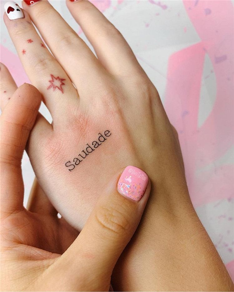 letters small tattoo ideas female on hand