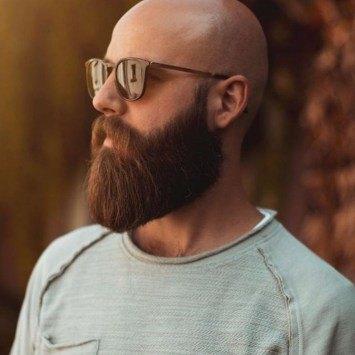 faded beard  bald head ideas images