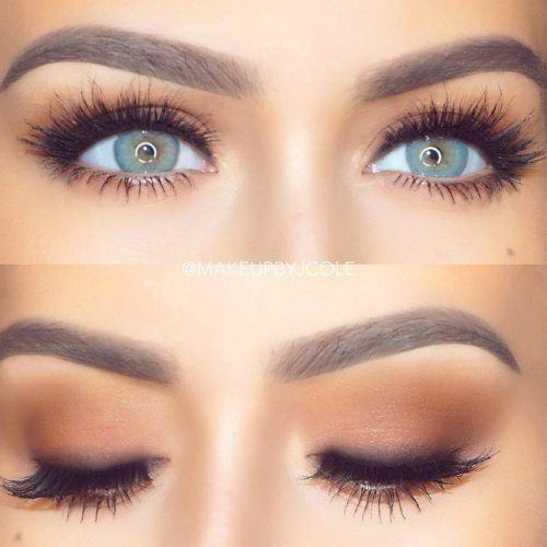 DEEP SET EYES MAKEUP