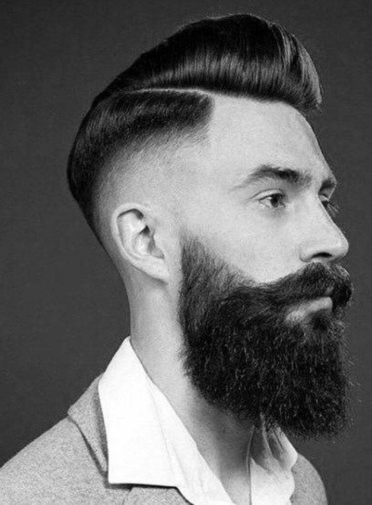 men's beard style chart