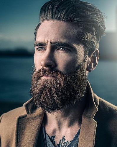 beard styles stubble