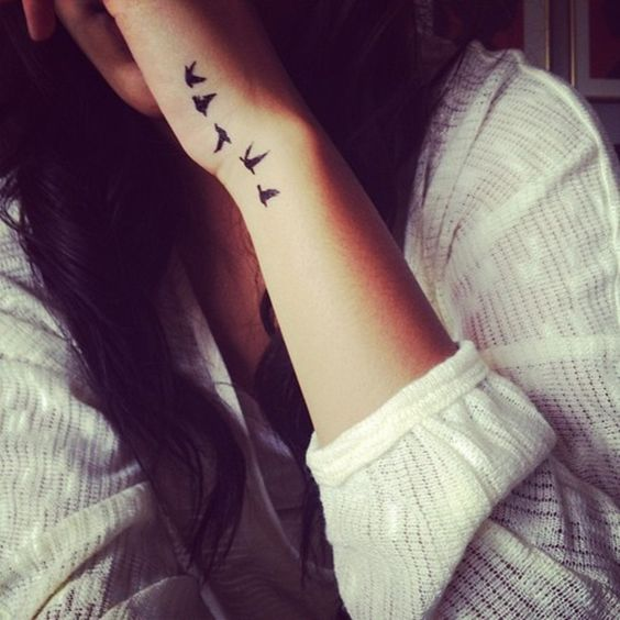 black bird small tattoos every girl would want