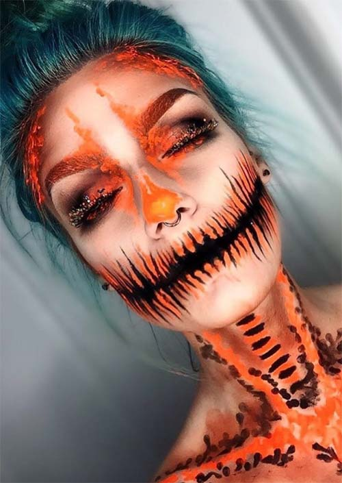 easy dead makeup ideas for female images