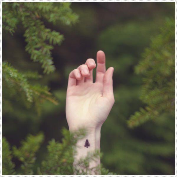 tree tattoo designs wrist female ideas