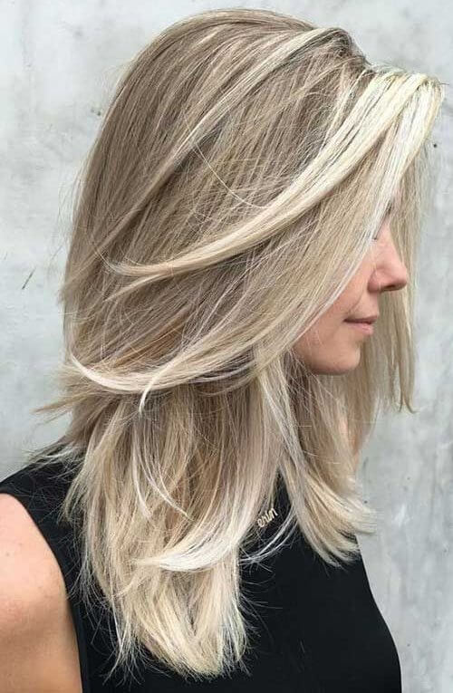 women's haircuts layered long hair