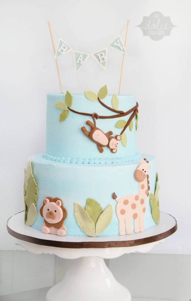 baby shower cakes easy