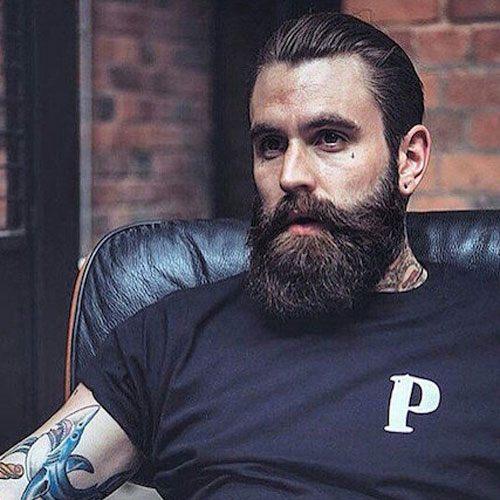 beard shape for triangular face