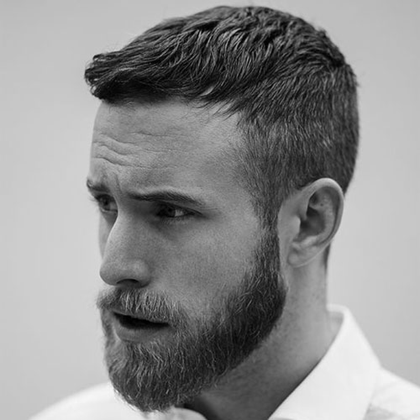 stylish shaving for men